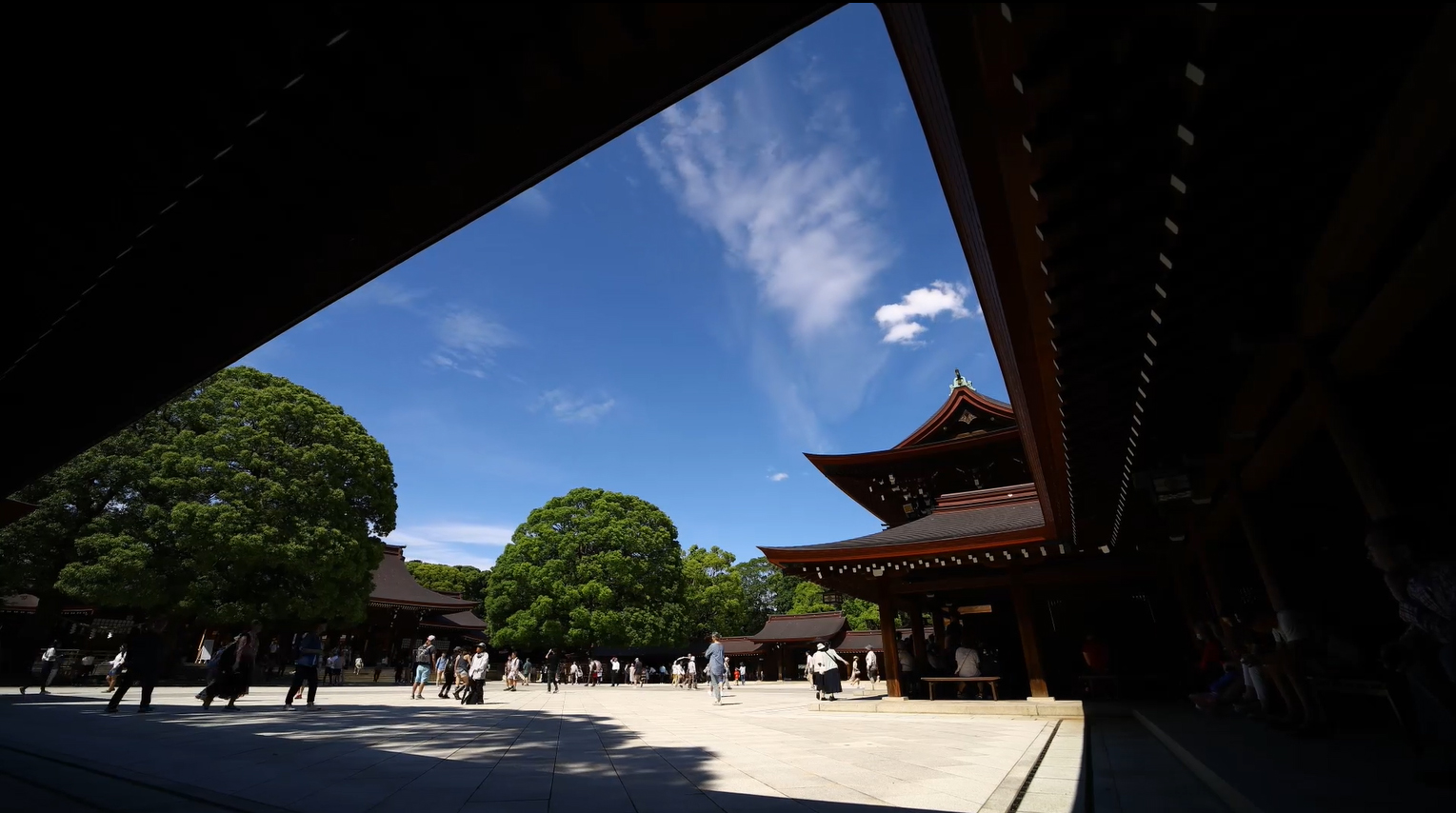 Meiji Jingu, a Shinto Shrine, Japan